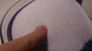 Finger im Salz
